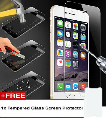100%Genuine Tempered Glass Screen Protector 1+1 For Iphone 6S {{op72