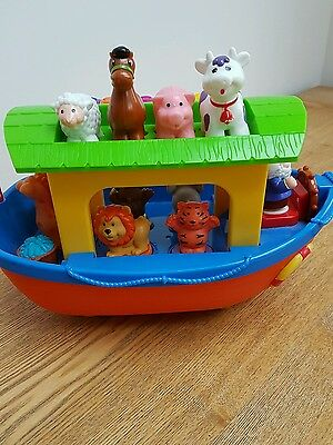 Noahs ark musical toy, with animal sounds
