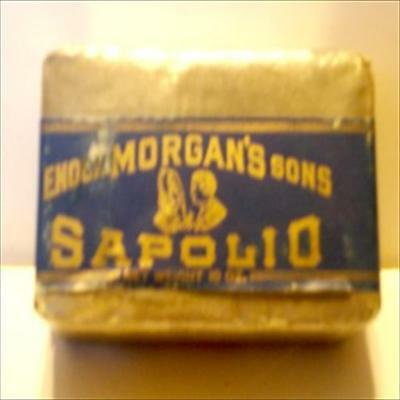 Sapolio Soap Bar For Cleaning & Polishing  New York.