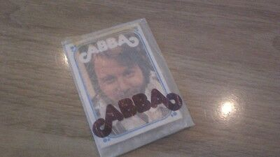 ABBA Rare Original Package Bubblegum Cards For The Swedish Market