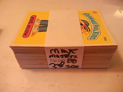 1985 85 Garbage Pail Kids GPK USA Series 3 NO COPYRIGHT  Complete Set  88 cards!