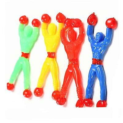 6x Novelty Sticky Wall Climbing Climber Men Style Toys Various Colour & Style