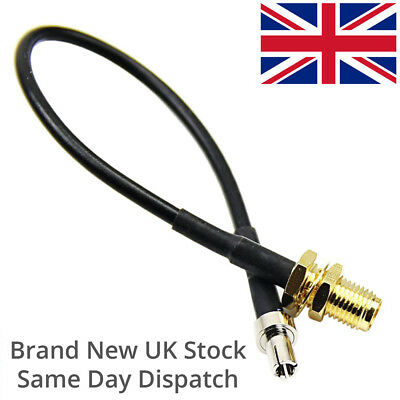 SMA Female to TS9 Pigtail 15cm for Huawei MiFi 3G/4G LTE Antenna Converter ZTE