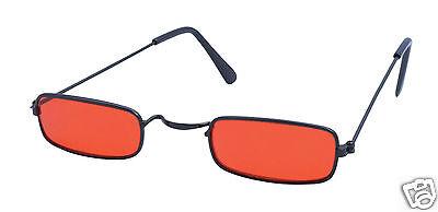 Dracula Shades Red Tinted Glasses Sunglasses Fancy Dress