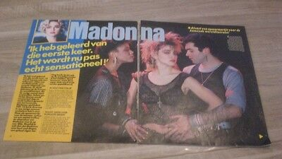 Madonna Rare Clippings and Poster