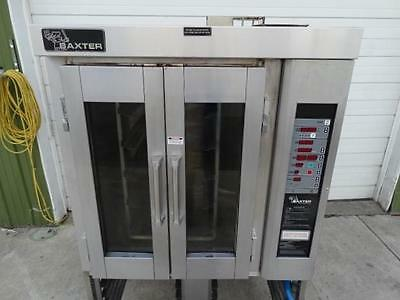 CLEAN Baxter Mini Rotating Rack Convection Oven Gas OV300G Dunkin Donuts Pan
