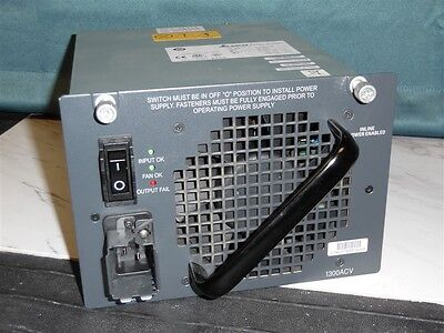 Cisco PWR-C45-1300ACV 1300W PoE & Data POWER SUPPLY 4506/4500 Many Available!