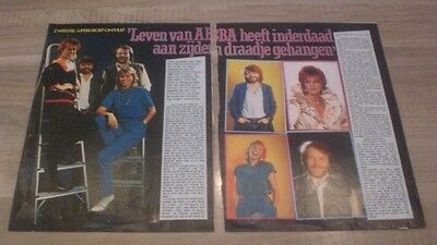ABBA Clippings Holland 1982