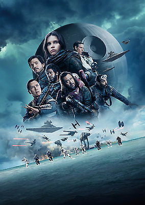 Rogue One: A Star Wars Story (2016) V5 - A1/A2 POSTER *BUY ANY 2 AND GET 1 FREE*