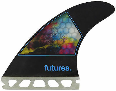 Futures Jordy Smith Small Surfboard Fin Set - CMYK - New