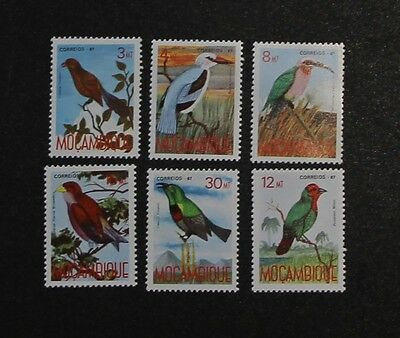 MOZAMBIQUE Bird Stamps 1987 SG1151/56 unmounted mint