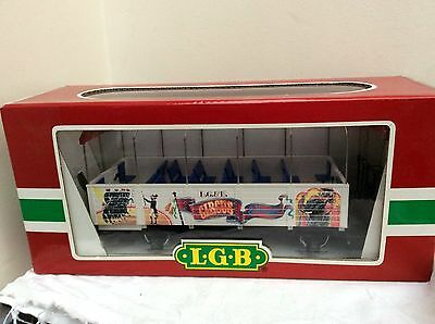 LGB G Gauge 3125 Circus Observation Coach       BOXED