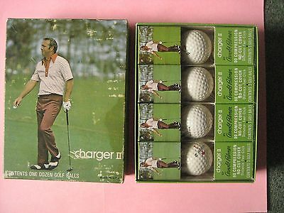 Vintage box Arnold Palmer Charger II golf balls. Look.
