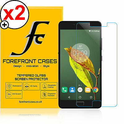 Forefront Cases® 9H HD Tempered Glass Screen Protector Shield Lenovo P2