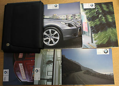 Bmw 5 Series Saloon E60 Touring E61 Handbook Owners Manual 2003–2007 Pack 3050