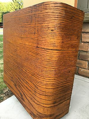 Antique Wood High Toilet Tank with Pull Chain