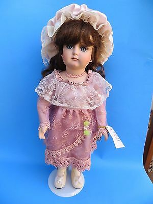 "Marie Osmond Full Body Porcelain 17"" Doll ""Felicia Ann""  LE 79/1500 Mint"