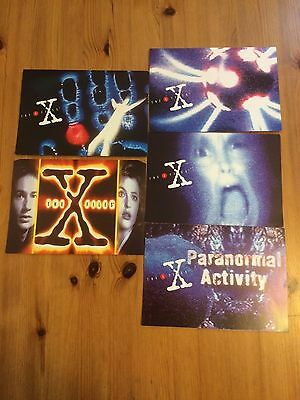 The X Files Limited Edition Phone Cards 1996 Collectable Full Set