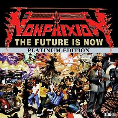 """Non Phixion """" The Future Is Now """" New Lp 16 Tracks *** Clear Vinyls *** Double"""