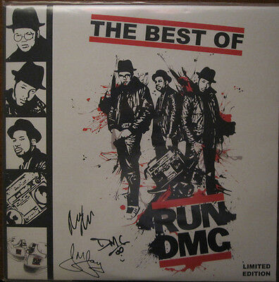 "Run Dmc "" The Best Of "" New Lp ** 3 X Lp Remastered Coloured Vinyl **"