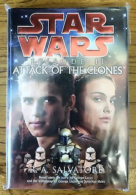 STAR WARS - Episode II Attack of the Clones Hardback Novel