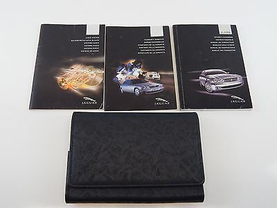 Jaguar X Type 2003-09 Owners Manual Handbook Pack With Leather Wallet