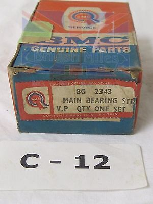 Mgb     3 Main  Bearing Engine   Main Bearing Set