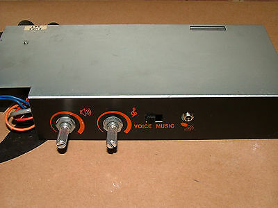 ELF EIKI SSL 20w 16MM FILM PROJECTOR AMPLIFIER UNIT  VGC