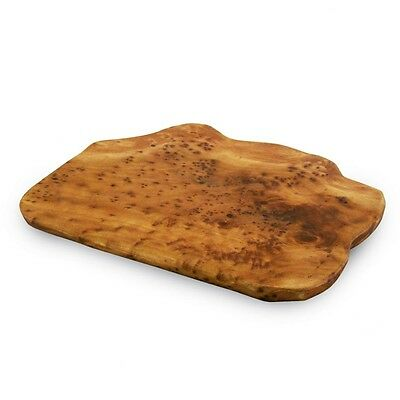 Hand-carved Burl Wood Cheese / Cutting Board - Unique Serving Tray - Free ship!