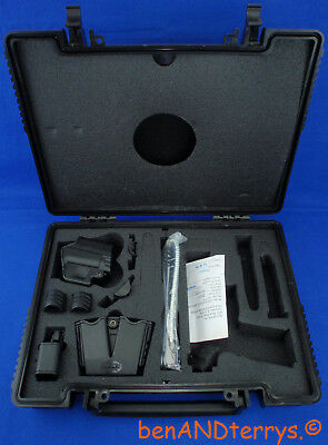 Springfield XDm Compact Factory Pistol Box Case XD Gear Holster,MagHolder,Manual