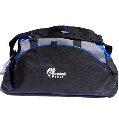 PICKLEBALL MARKETPLACE - MED. Duffle - New/Embroidered - Carry Paddles - Royal