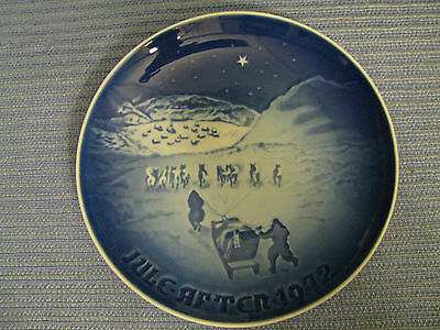 Bing & Grondahl B&G Christmas in Greenland 1972 Collector Plate