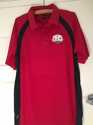 Men's Red Ryder Cup Polo Shirt New Size Large