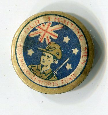 Our Fighting Men Button Badge Pin (Lot 7)