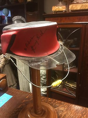 A 1960's Captain Scarlet Hat Signed By Gerry Anderson. Open To Offers.