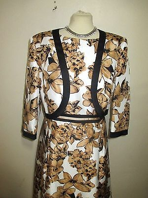jacques vert dress & bolero size 18 wedding party mother of the bride stunning