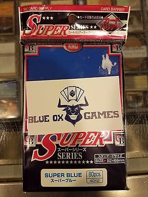 KMC Super Blue Standard Size (80 Count) New Sealed