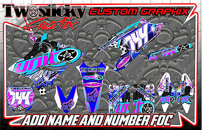 Yamaha Yz 125/150/250/450  Motocross Mx Graphics Stickers   All Years