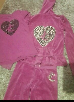 juicy couture tracksuit and top bundle