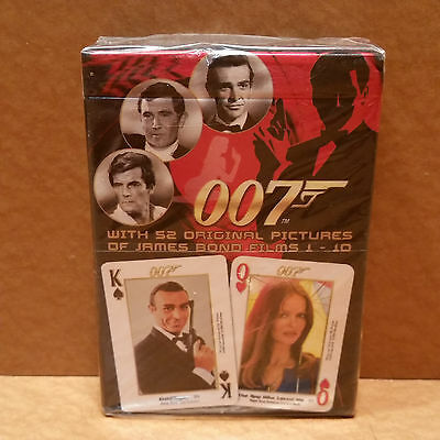 NEW James Bond Collectibles Poker Playing Cards - Collection # 1 - Films 1 to 10