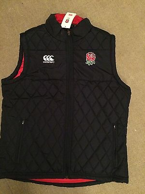 England Rugby Padded Gilet
