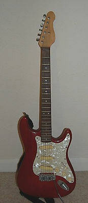 Red Electric Guitar - 6 String