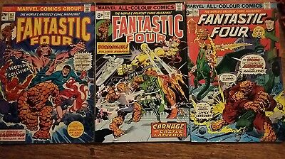 Fantastic Four vol I # 153, 157 and 160