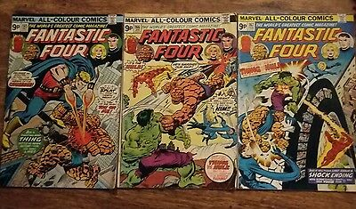 Fantastic Four vol I # 165, 166 and 167