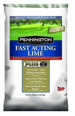 Pennington Fast Acting Lime - Covers 5,000 Sq Ft -  30 Lbs.