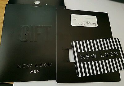 New look Gift Card £79.99 Valid For 24 Months
