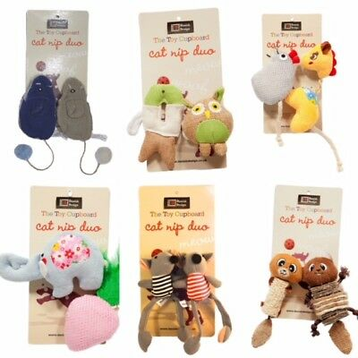 The Toy Cupboard Catnip Duo Cat Toys Fun And Colourful