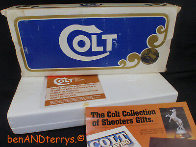 Winchester Colt 44-40 Commemorative Box with 2-Piece Styrofoam Insert & Manual