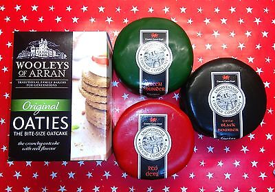 3 Snowdonia Cheese Truckles + Pack of Oatcakes