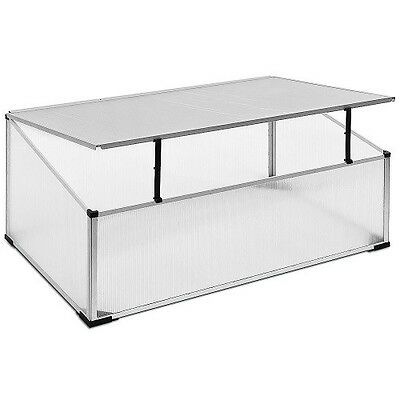 Small Cold Frame Greenhouse Polycarbonate Mini Garden Plant Outdoor Grow House